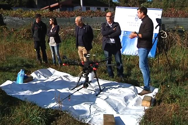 Presentación de dron