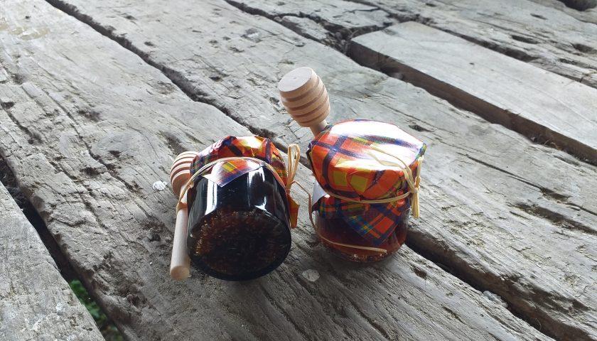 Frascos de miel de Trasalba